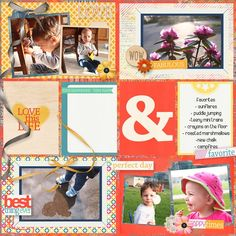 Project life layout using On Cloud Nine by JB Studio  https://www.pickleberrypop.com/shop/product.php?productid=42815&page=2