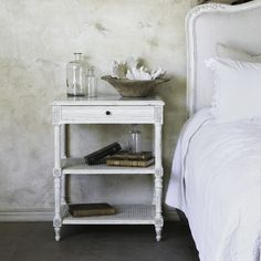 Eloquence® Napoleon Nightstand in Antique White