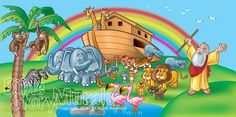 Bible Story Murals - beautiful wall murals in various sizes!