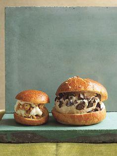 Sicilian Ice Cream Sandwiches. (Could sub in a big choux puff for the brioche bun in a pinch.)
