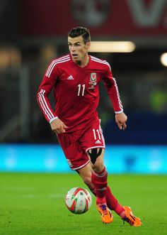 Gareth Bale leading the line for Wales and giving a nation the chance to dream.  Could he take them to their first major championships since 1958...?
