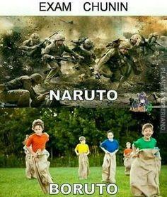 Chunin exam in Naruto vs Boruto Naruto Comic, Anime Naruto, Naruto Und Sasuke, Naruto Cute, Otaku Anime, Naruto Uzumaki Shippuden, Wallpaper Naruto Shippuden, Kakashi Hatake, Sasunaru