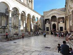 O que fazer em Split, Croácia - Palácio de Diocleciano (Foto: Esse Mundo É…