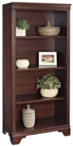 Traditional Bookcase Shelves Finish Solid Cherry Adjustable Versatile Furniture #Doesnotapply #TraditionalTransitional #Bookcase #Shelves #Furniture #Home