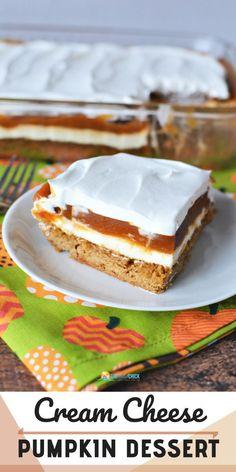 Cream Cheese Pumpkin Dessert Recipe