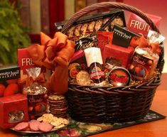 A Grand World Of Thanks Gourmet Gift Basket | Buy at All About Gifts & Baskets (http://www.aagiftsandbaskets.com/a_grand_world_of_thanks_gourmet_gift_basket.html)