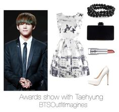 """Awards show with Taehyung"" by bts-outfit-imagines on Polyvore featuring Charlotte Russe and Bling Jewelry"