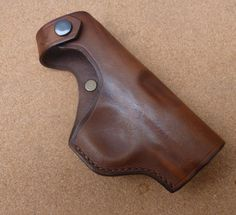 Custom holster for the Spanish Ruby type contract pistols made for the French military in WWI - £25. Available in a range of colours and sized to fit specific models of pistol.