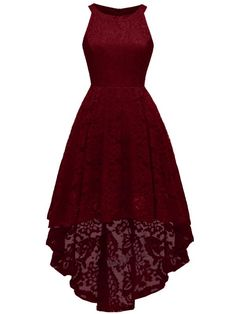 LaceShe Women Halfter Hi-Lo Spitzenkleid mit Blumenmuster # Blumenmuster # Kleid # Blumenmuster Women's Dresses, Trendy Dresses, Elegant Dresses, Beautiful Dresses, Fashion Dresses, Awesome Dresses, Jovani Dresses, Wedding Dresses, Casual Dresses