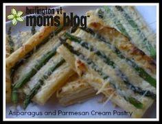 Recipe: Asparagus and Parmesan Cream Pastry | Burlington VT Moms Blog