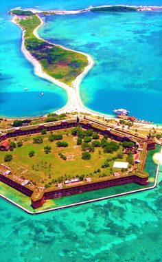 Dry Tortugas National Park is a Beach in Key West. Plan your road trip to Dry Tortugas National Park in FL with Roadtrippers. Vacation Ideas, Vacation Trips, Dream Vacations, Vacation Spots, Travel Trip, Dry Tortugas, Visit Florida, Florida Travel, Florida Keys