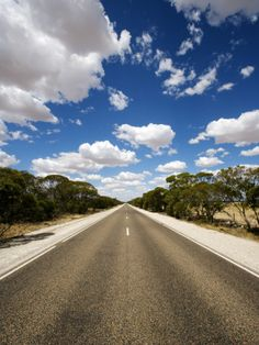 Mallee Highway Near Ouyen, by Oliver Strewe