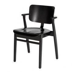 Buy Domus Chair from Artek. A masterpiece of modern furniture design, the Domus Chair was created as part of a series of furniture for the Domus Academ. Modern Furniture, Furniture Design, Danish Design Store, Student House, Kartell, Luminaire Design, Black Stains, Architect Design, Le Corbusier