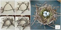 Best of DIY Party – {DIY Twiggy Bird's Nest} | http://www.lilacsandlonghorns.com/best-of-diy-party-twiggy-birds-nest.html