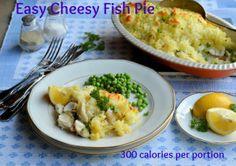 300 calorie fish pie: Easy Cheesy Family Fish Pie