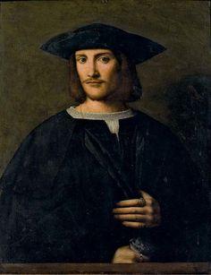 Bartolomeo Veneto, Portrait of a Gentleman, 16th century