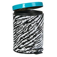 Fashion Print Stainless Steel Wastebasket at Big Lots.
