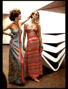 Missoni maxi dresses c.1968
