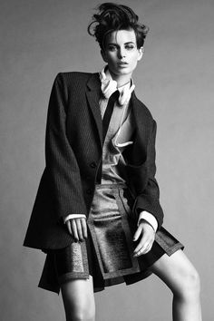 ellinore jimmy backius5 Ellinore Erichsen Rocks Androgynous Style for Madame Figaro by Jimmy Backius