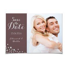 Save the Date Schätzelein Silber in Granitgrau - Postkarte flach #Hochzeit #Hochzeitskarten #SaveTheDate #elegant #Foto https://www.goldbek.de/hochzeit/hochzeitskarten/save-the-date/save-the-date-schaetzelein-silber?color=granitgrau&design=5a6be&utm_campaign=autoproducts