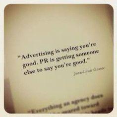 Advertising versus Public Relations