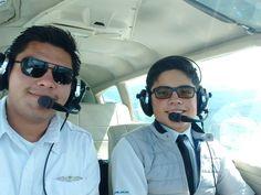 Nuevo piloto privado con gran futuro, felicidades Alejandro
