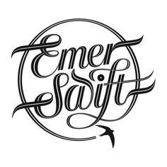 'Emer Swift' BMX logo by Sebastian Lester.