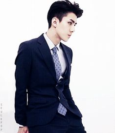 Repinning BC THIS BABY IS TOO BEAUTIFUL my golly he looks so good in a suit UGH and I miss his hair :'(