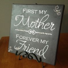 Canvas Ideas For Mom