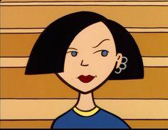 Imitate: Jane sees something she likes. Daria Morgendorffer, Cartoon Icons, Cartoon Memes, Vintage Cartoon, Cute Cartoon, Estilo Gangster, Daria Mtv, Cartoon Profile Pictures, My Spirit Animal