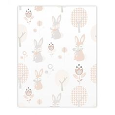 Pastel #babykamer #behang #wallpaper  Roodborstje via ...