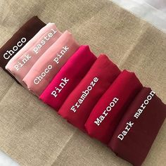 Colour Combinations Fashion, Color Combinations For Clothes, Color Mixing Chart, Fashion Infographic, Colored Burlap, Hijab Style Tutorial, Stylish Hijab, Fashion Terms, Fashion Vocabulary