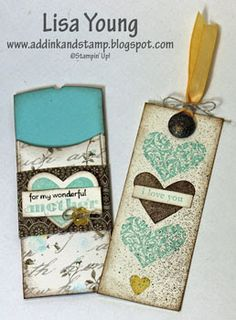Bookmark and Holder  Stampin' Up!
