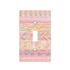 Pink and Peach Pastel Pattern