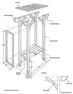 arbor building plans