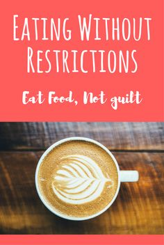 "Eating without restrictions can be freeing and lead to a healthy diet. Focus on eating healthy food more often rather than eliminating ""bad"" foods."