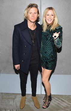 Is it over? New reports suggest that Dougie and Ellie, seen here in October, are taking a ...