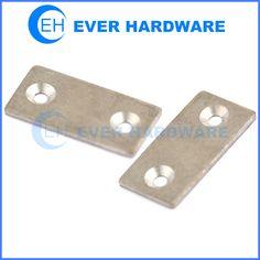 Straight corner brace panel flat metal bracket mending repair fixing brace  sc 1 st  Pinterest & Flat corner brace black galvanized decorative mending plates ...