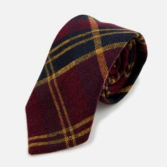 Seaward & Stearn Tartan Plaid Tie - He Spoke Style Shop