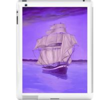 iPad Case/Skin,  unique,cool,fancy,beautiful,trendy,artistic,awesome,unusual,fashionable,accessories,gifts,presents,ideas,design,items,products,for,sale,nautical,purple,lavender,sailboat,marine,redbubble
