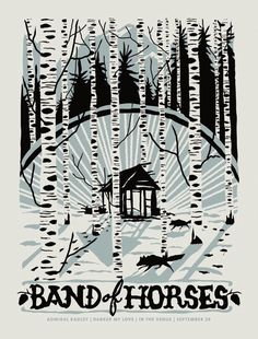 Band Of Horses - Darker My Love - Admiral Radley