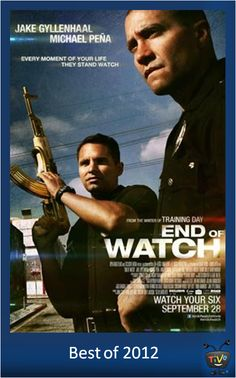 Best of 2012 - End of Watch