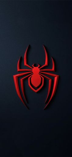 spider man miles morales logo 4k iPhone X Wallpapers