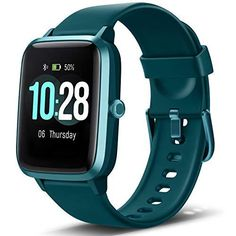 """Letsfit Smart Watch, Fitness Tracker with Heart Rate Monitor, Activity Tracker with 1.3"""" Touch Screen, IP68 Waterproof Pedometer Smartwatch with Sleep Monitor, Step Counter for Women and Men Overtake your expectations: featuring a 1. 3-Inch large touch screen that allows you to understand your health more intuitively by displaying your sports data vividly and in a way that is easy to understand. Meets IP68 water Standard requirements, this Letsfit smartwatch also lets you avoid any troubles when Smartwatch, Galaxy Note 5, Samsung Galaxy S6 Edge, Arm Workout With Bands, Android 4.4, Fitness Armband, Bluetooth, Sport Mode, Best Fitness Tracker"""