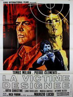 Tomas-Milian-Pierre-Clementi-LA-VICTIME-DESIGNEE-Maurizio-Lucidi-1971-120x160