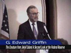 The Creature From Jekyll Island (by G. Edward Griffin) ....    The Creature From Jekyll Island  A Second Look at the Federal Reserve  by G. Edward Griffin    Recorded: 1994    POSTED WITH PERMISSION FROM (1/4/10):  http://www.youtube.com/user/kg6dgv