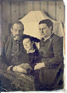 20 Victorian Photos With The Dead Loved Ones Look Creepier Today But Used To Be Boon Once - https://memeyourfriends.com/20-victorian-photos-dead-loved-ones-look-creepier-today-used-boon/