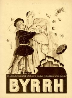 Georges Léonnec  (1881 – 1940). Byrrh, 1933. [Pinned 23-i-2015]