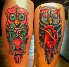 Owls done by Sean Hall