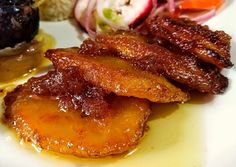 Cuban Dishes, Colombian Food, Cuban Recipes, Sin Gluten, Finger Foods, Cravings, Side Dishes, Bacon, Good Food